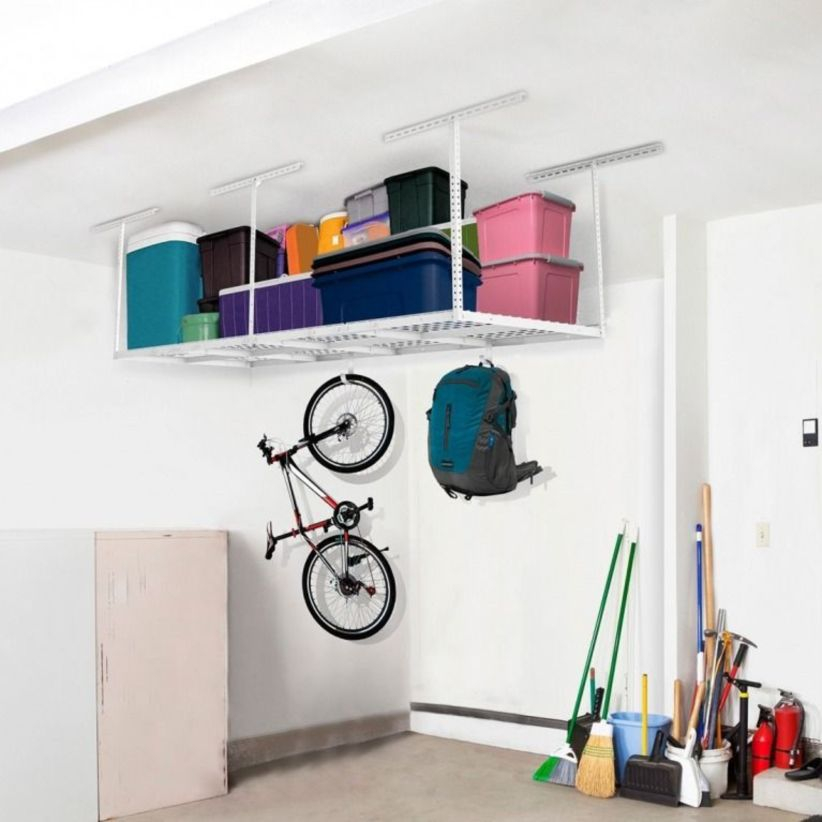 34 Creative Hacks To Organize Your Stuff For Garage Storage