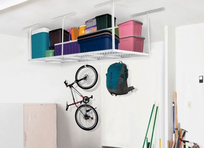 Creative hacks to organize your stuff for garage storage 33