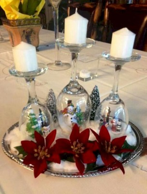 Easy winter centerpiece decoration ideas to try 15