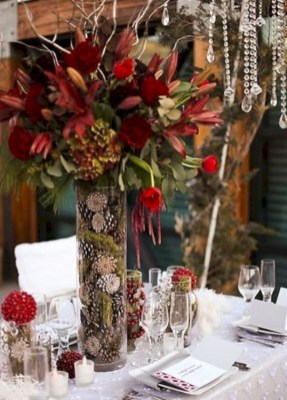 Easy winter centerpiece decoration ideas to try 18