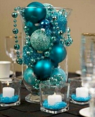 Easy winter centerpiece decoration ideas to try 30