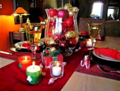 Easy winter centerpiece decoration ideas to try 49