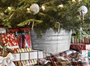Genius ways to repurpose galvanized buckets this christmas 16