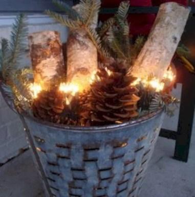 Genius ways to repurpose galvanized buckets this christmas 33