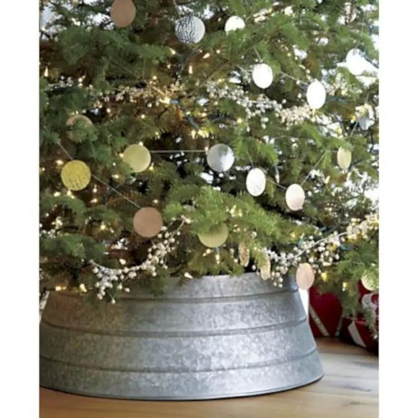 Genius ways to repurpose galvanized buckets this christmas 37