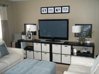 Modern tv stand design ideas for small living room 02
