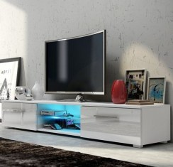 Modern tv stand design ideas for small living room 12