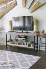 Modern tv stand design ideas for small living room 20