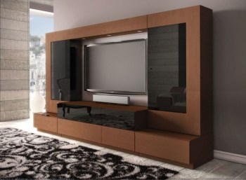 Modern tv stand design ideas for small living room 30