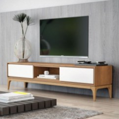 Modern tv stand design ideas for small living room 41