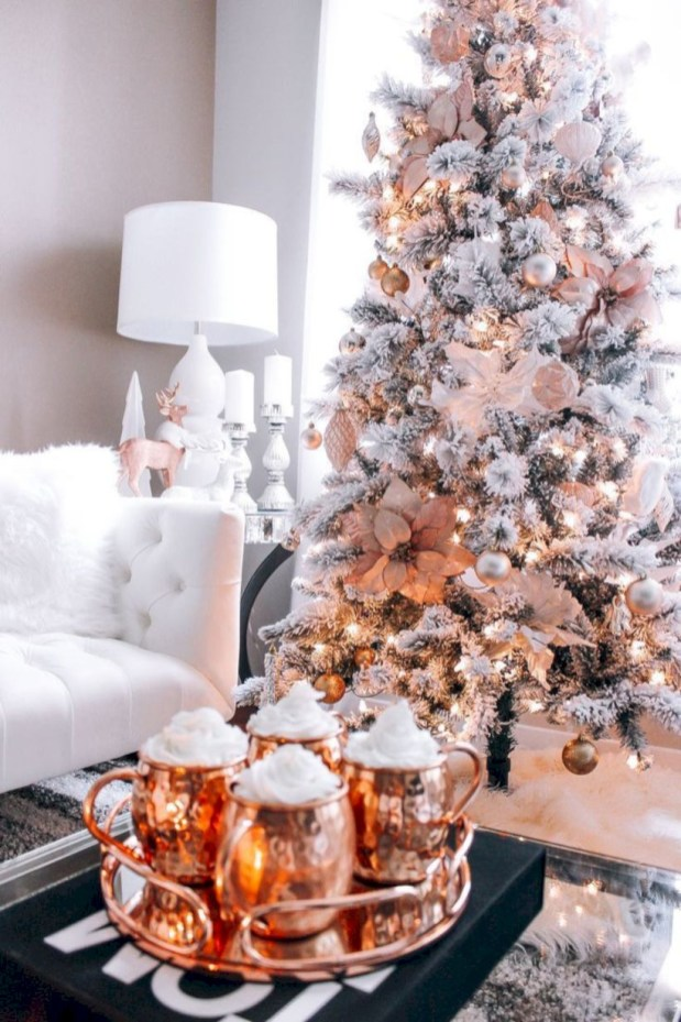 Stunning christmas decoration ideas in 2018 44