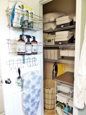 Ways to organizing your chaotic linen closet 24
