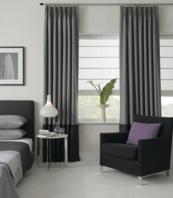Window treatment and curtain ideas to beautify your window space 08