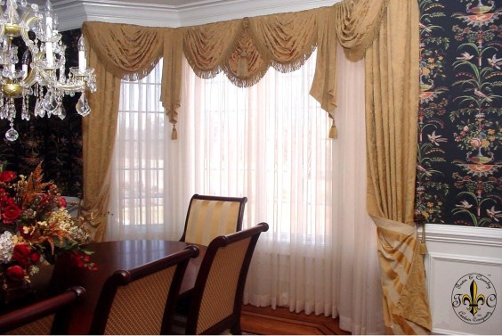 Window treatment and curtain ideas to beautify your window space 27