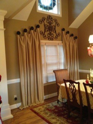 Window treatment and curtain ideas to beautify your window space 29
