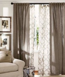 Window treatment and curtain ideas to beautify your window space 34