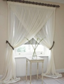 Window treatment and curtain ideas to beautify your window space 46