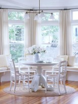 Window treatment and curtain ideas to beautify your window space 49