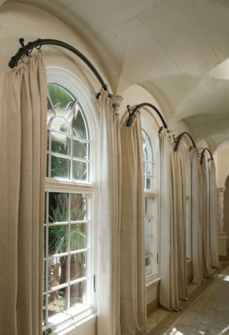 Window treatment and curtain ideas to beautify your window space 51