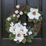 Winter christmas wreath to compliment your door 04