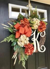 Winter christmas wreath to compliment your door 05