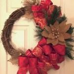 Winter christmas wreath to compliment your door 20