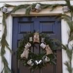 Winter christmas wreath to compliment your door 27