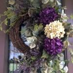 Winter christmas wreath to compliment your door 38