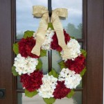 Winter christmas wreath to compliment your door 45