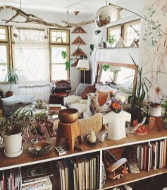Winter hygge home decorating ideas 49
