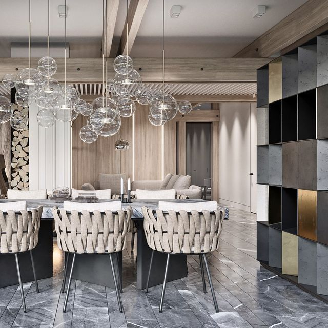 Amazing contemporary dining room decorating ideas 16