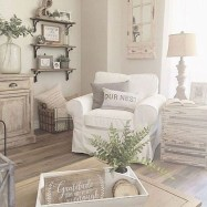 Awesome country farmhouse decor living room ideas 07