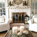 Awesome country farmhouse decor living room ideas 14
