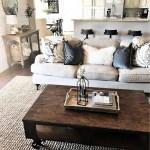 Awesome country farmhouse decor living room ideas 15