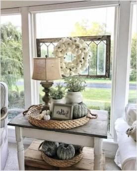 Awesome country farmhouse decor living room ideas 26
