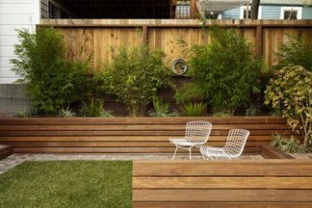 Beautiful yet functional privacy fence planter boxes ideas 09