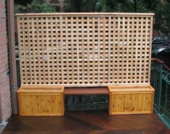 Beautiful yet functional privacy fence planter boxes ideas 22