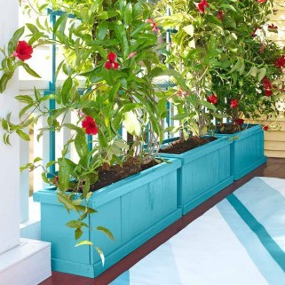 Beautiful yet functional privacy fence planter boxes ideas 24