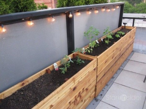 Beautiful yet functional privacy fence planter boxes ideas 27