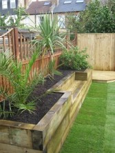 Beautiful yet functional privacy fence planter boxes ideas 40