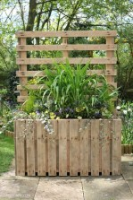 Beautiful yet functional privacy fence planter boxes ideas 41