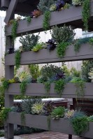 Beautiful yet functional privacy fence planter boxes ideas 46