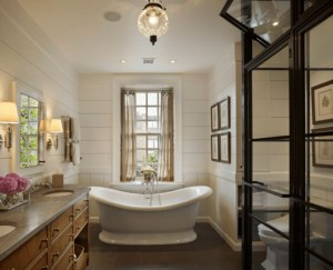 Cozy master bathroom decor ideas 10