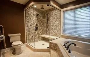 Cozy master bathroom decor ideas 45