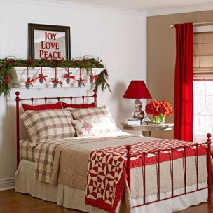 Cozy and beautiful bedroom for winter decor ideas 22