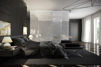 Cozy and beautiful bedroom for winter decor ideas 33