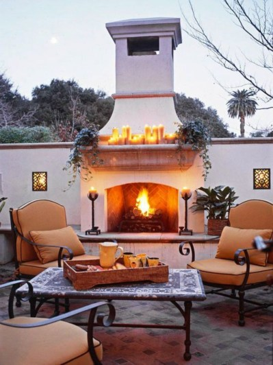 Fabulous winter patio decorating ideas 08