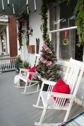 Fabulous winter patio decorating ideas 41