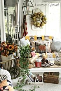 Fabulous winter patio decorating ideas 46