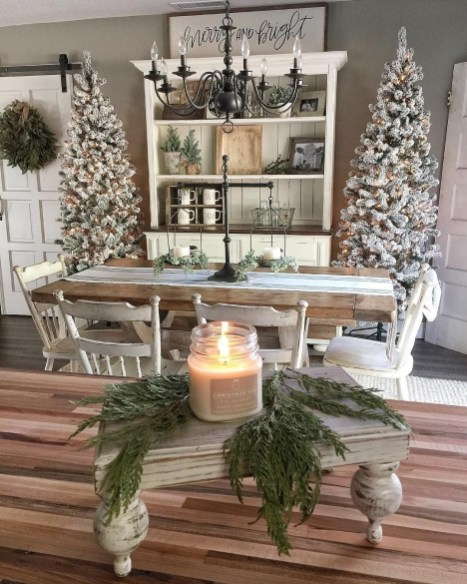 Favorite rustic winter decor to consider 14